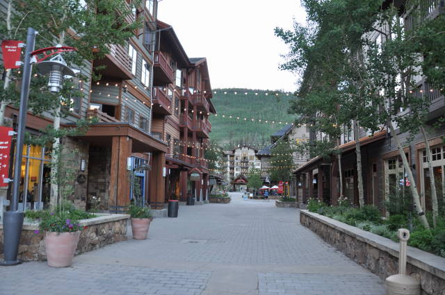 Colorado running through this world for Copper village