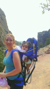 Hiking with baby